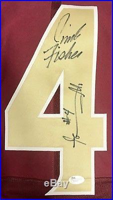 Tarvarus McFadden FSU Florida State Seminoles Signed (Game Issued) Jersey JSA
