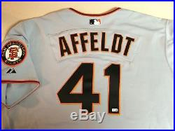Team Issued/ Game Used Jersey San Francisco Giants David Affeldt #41