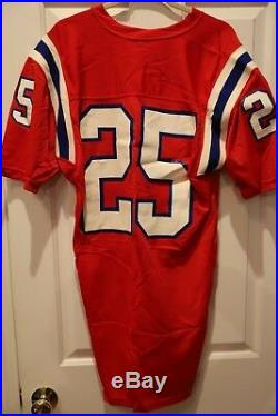 Team Issued Red Home New England Patriots Game Un Used Jersey Size 46