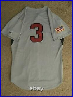 Team USA Baseball Issue Game Used Worn Jersey 2012-2015 Albert Almora Jr