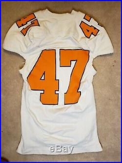 Tennessee Volunteers Game Used Worn Issued Away Jersey Adidas Team Player Vols