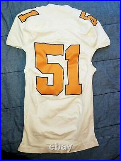 Tennessee Volunteers Game Worn Adidas Jersey #51 Used Issued Team Player Vols