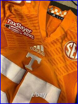 Tennessee Volunteers Game Worn Jersey #55 Used Issued Team Player Vols Authentic
