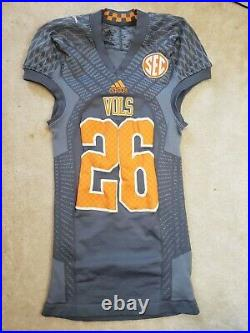 Tennessee Volunteers Game Worn Jersey Player Team Issued Vols Used Smokey #26