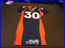 Terrell Davis Denver Broncos Nike game worn / issued jersey 1999