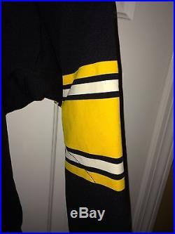 Terry Bradshaw SandKnit-Medalist PIttsburgh Steelers Durene Jersey Game Issue
