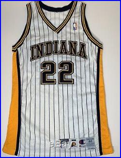Terry Dehere Indiana Pacers Champion Jersey Game Issued Size 44 Length +3 Nba