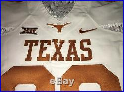 Texas Longhorns NIKE Authentic Game Worn Used Issued Jersey size 42 HYPERCOOL