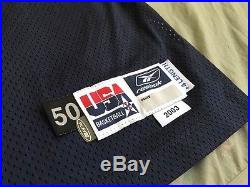 Tim Duncan 2003 American Tournament Game Used/Issued Jersey