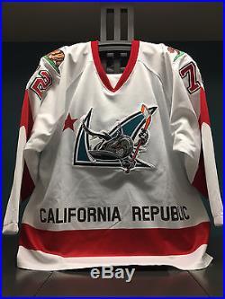 Tim Heed Game Issued San Jose Barracuda California Republic Jersey
