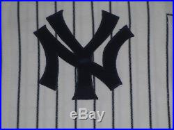 Tim Raines #31 size 46 1998 Yankees Game used jersey issued HOME STEINER HOLO