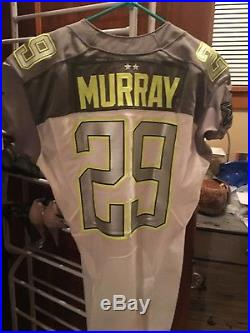 Titans/Eagles/ cowboys game used issued worn jersey demarco Murray PRO BOWL