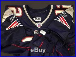 Tom Brady 2006 New England PATRIOTS Home GAME ISSUED Jersey