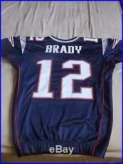 Tom Brady 2006 game worn /Issued New England Patriots Jersey