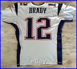 Tom Brady 2007 Game Issued/Worn Jersey New England Patriots