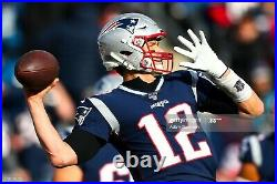 Tom Brady 2019 New England PATRIOTS GAME ISSUED Autographed Jersey NFL AUCTION