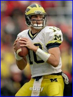 Tom Brady Game Used Issued College Jersey U Of M Goat Holygrail Loa