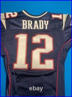 Tom Brady Patriots Game Issued/ Worn Jersey