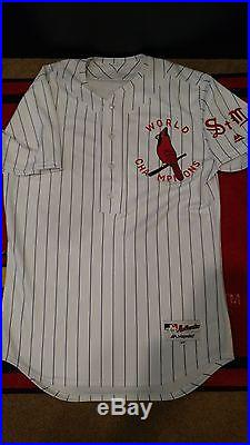 Tommy Pham St Louis Cardinals Game Used/Worn/Issued 1927 Throwback Jersey
