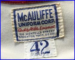 Tony Conigliaro 1975 Game Issued Home Uniform Jersey Boston Red Sox COA Rare