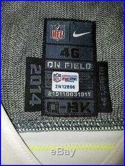 Tony Romo Dallas Cowboys Pro Bowl Game Issued Jersey 2014 PSA Cert