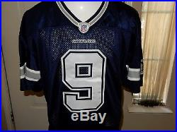 Tony Romo Game Issued Dallas Cowboys Jersey 2006 48 PROVA Group Chip