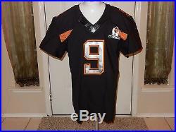 Tony Romo Game Issued Nike Pro Bowl Football Jersey 2014 48 Q-BK PSA DNA COA