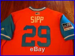 Tony Sipp 2017 Astros Game Used Issued Players Weekend Jersey World Series