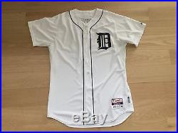 Torii Hunter 2014 Game Used Worn Issued Team Jersey Detroit Tigers Autograph