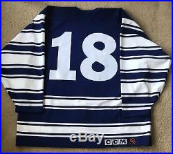 Toronto Maple Leafs Game Issue (not worn) Heritage Jersey RARE (authentic, pro)