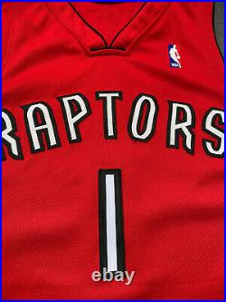 Toronto Raptors PJ Tucker Rookie Game Jersey Team Issued worn Procut 44+4 Rocket