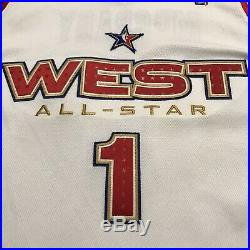 Tracy Mcgrady Game Issued Used Worn 05 All Star Jersey Rockets Magic