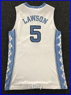 Ty Lawson North Carolina Tar Heels Nike Elite Game Issued Jersey