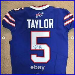 Tyrod Taylor Game Issued Jersey Buffalo Bills Not Game Worn NFL PSA Autographed