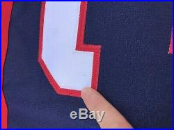 USA Nike 2004 Olympics World Cup Hockey Jersey Bill Guerin Game Issue Size 56
