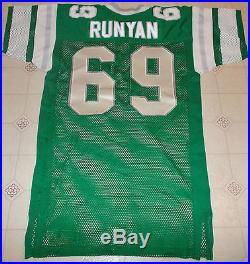 Vintage Russell Philadelphia Eagles Game Issued Home Jersey