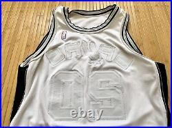 VTG Nike Team Issue Manu Ginobili Spurs Authentic 48 +4 Duncan Game Jersey Pro