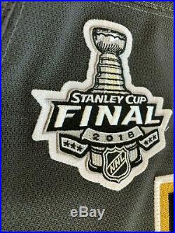 Vegas Golden Knights 2017-18 Game Issued Stanley Cup Finals Adidas Jersey MIC