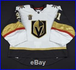 Vegas Golden Knights Calvin Pickard Game Issued not Worn Used Inaugural Jersey