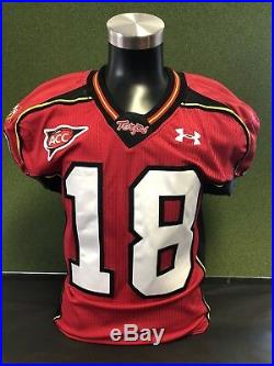 Vernon Davis Maryland Terps Game Issued Jersey