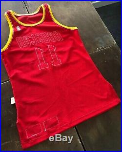 Vernon Maxwell Houston Rockets 1992-93 Signed Game Issued Worn Champion Jersey