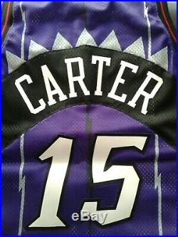 Vince Carter 1998 GAME ISSUED ROOKIE JERSEY