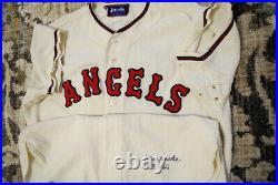 Vintage 60s Los Angeles Angels Anaheim Ken McBride SPALDING Game Issued MLB