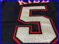 Vintage Authentic Jason Kidd New Jersey Nets Jersey Team Game Issued 2001-2002