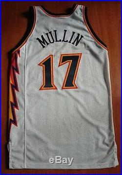 Vintage Golden State Warriors Chris Mullin Team Issued Puma NBA Game Jersey