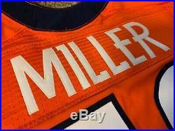 Von Miller 2012 Denver Broncos Nike Game Used/Issued Jersey