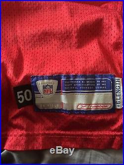 Warren Sapp Authentic Game Jersey Team Issue 2002 Season Worn Buccaneers