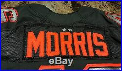 Washington Redskins Alfred Morris Authentic Game Issued Jersey Team Irvin