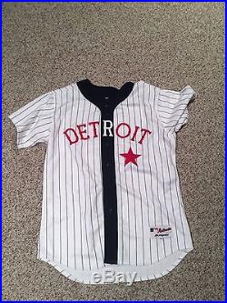 Willie Horton Game Issued/Used/Worn Coaches Jersey Detroit Tigers Stars