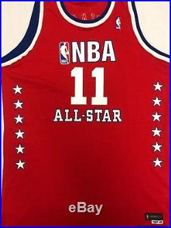 Yao Ming Game Issued Pro Cut Jersey 2003 NBA All-Star Jersey LOA Signed Rockets